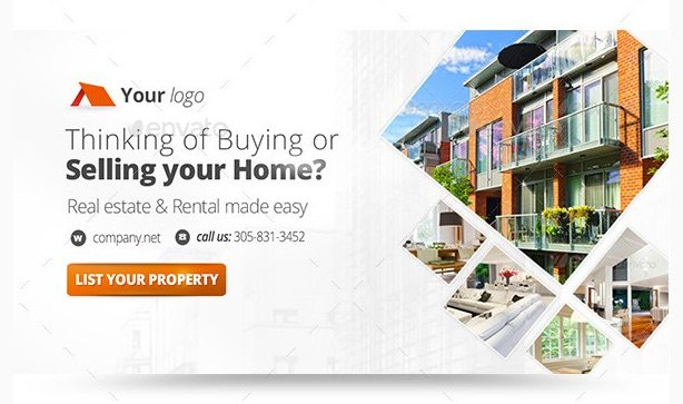 Real Estate Web Banners Bundle by Zokamaric