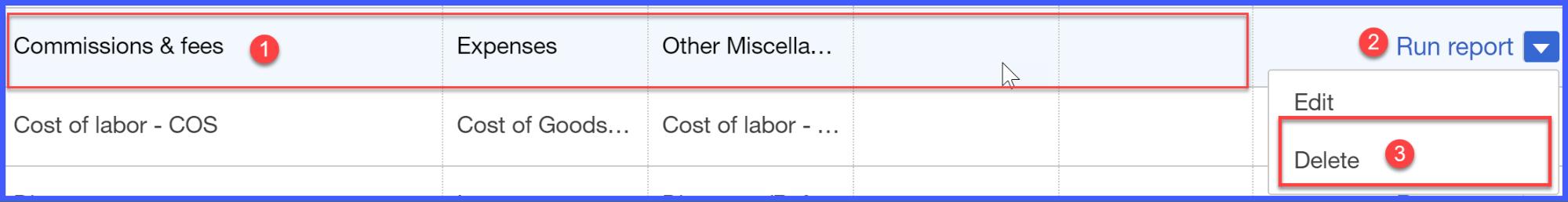 QuickBooks Online Delete Account