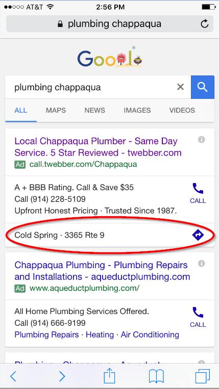 mobile chapp plumbing