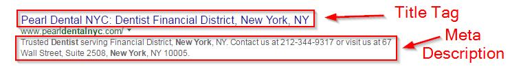 Başlık etiketi google sıralaması