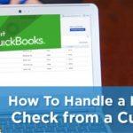 handle bounced checks in quickbooks