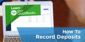 How to record bank deposits in QuickBooks Online