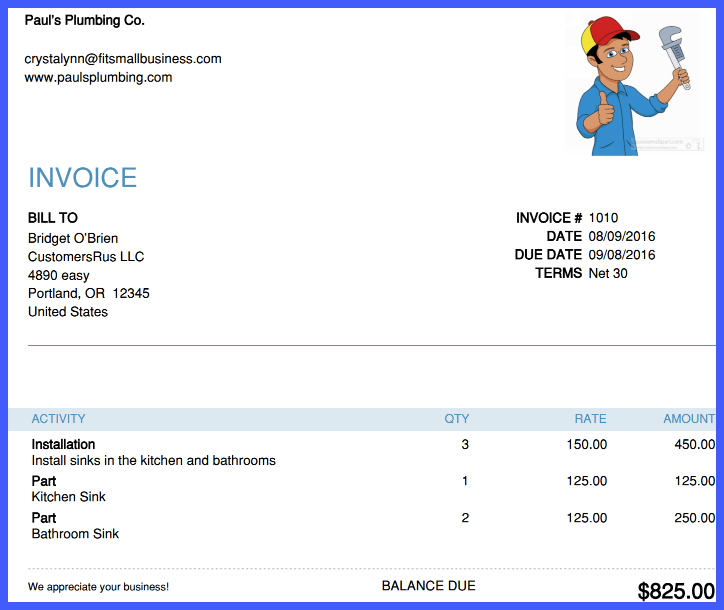 How To Create And Send Invoices In QuickBooks Online - Create and send invoices