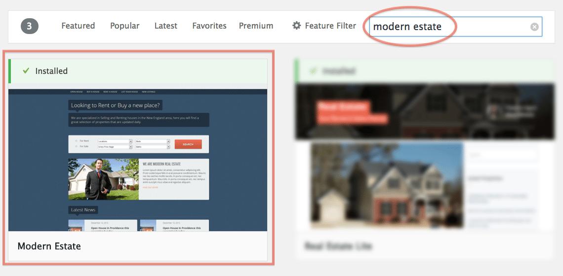 Wordpress real estate theme mls themes : 2018