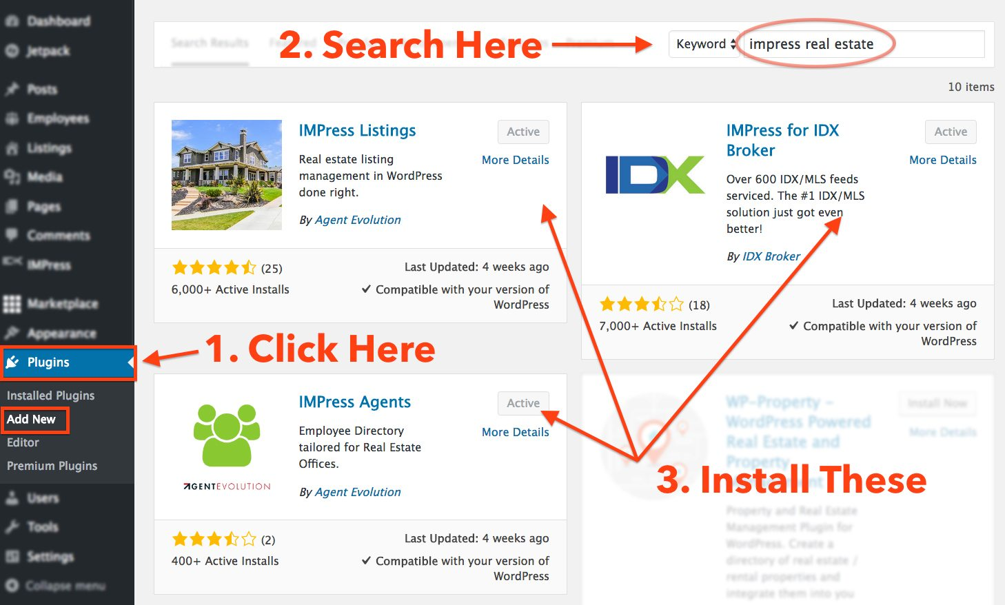 wp-impress-real-estate-plugins