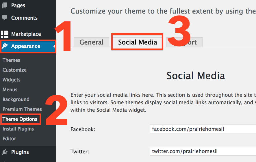 wp-re-site-social-media-options
