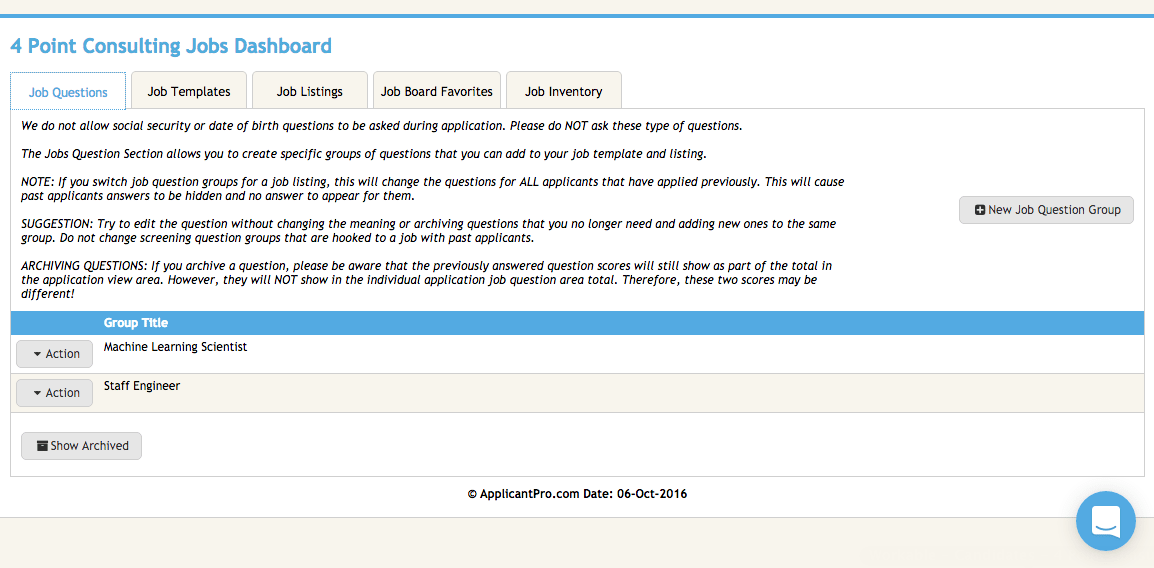 applicantpro-dashboard