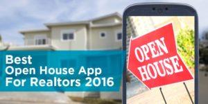 Best Open House Apps For Realtors 2016