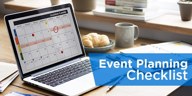 event planning checklist how to guide