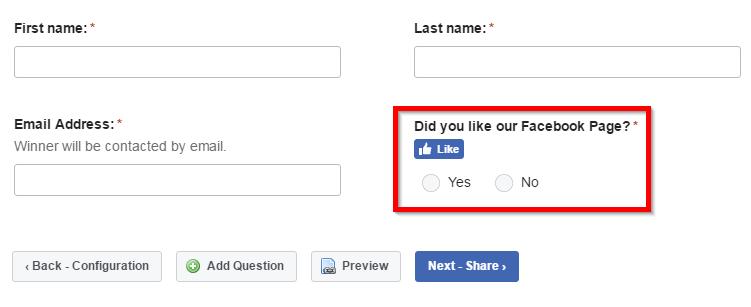 facebook-contest-form