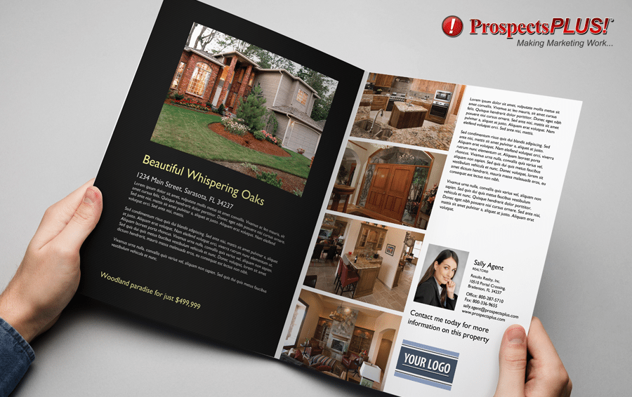 real estate brochure bifold from ProspectsPLUS