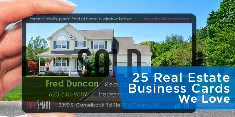 25 Real Estate Business Cards We Love