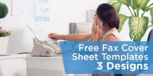 Free Fax Cover Sheet Templates – PDF, DOCX and Google Docs