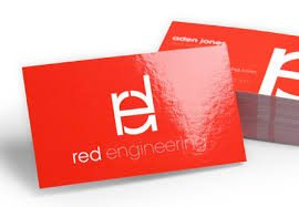 How to make a business card in 7 easy steps glossy biz card colourmoves