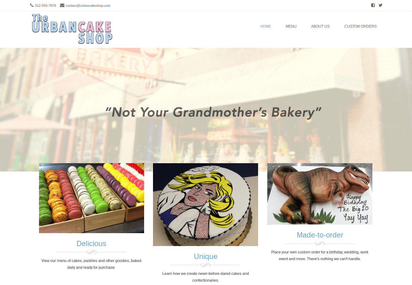 Best Free WordPress Themes: Brasserie