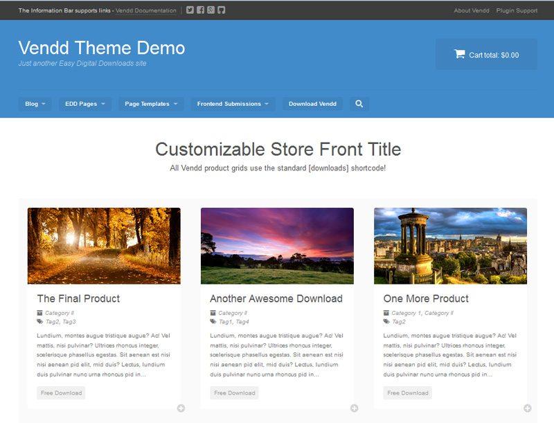 Wordpress ecommerce plugin - Easy Digital Downloads