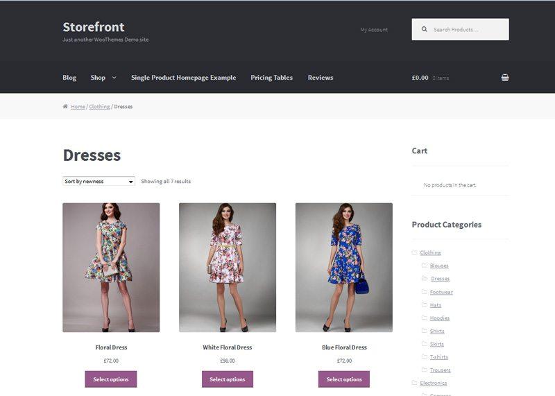 Wordpress ecommerce plugin - WooCommerce