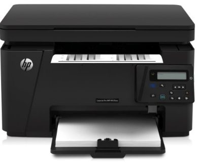 Laser printer for printing barcode labels