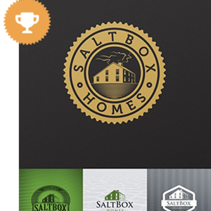 Saltbox-Homes-Real Estate Logos