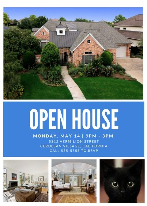 Free Open House Flyer Template – Click to View & Download