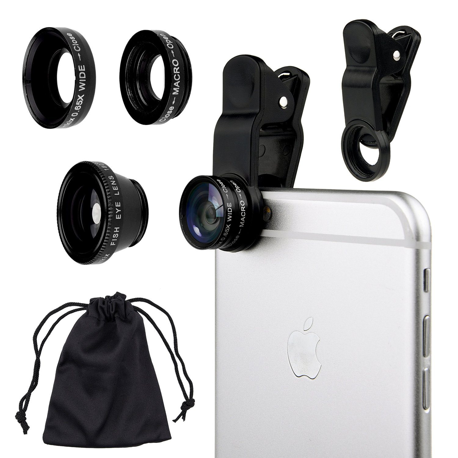 Product photography with phone camera - Clip on lenses