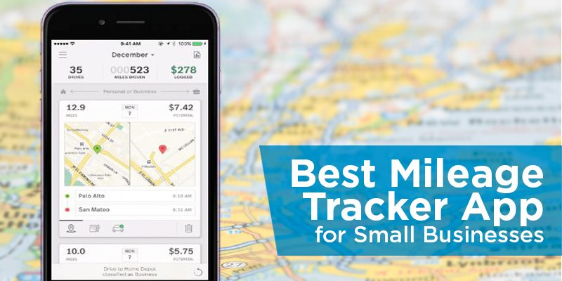 best mileage tracker app for small businesses