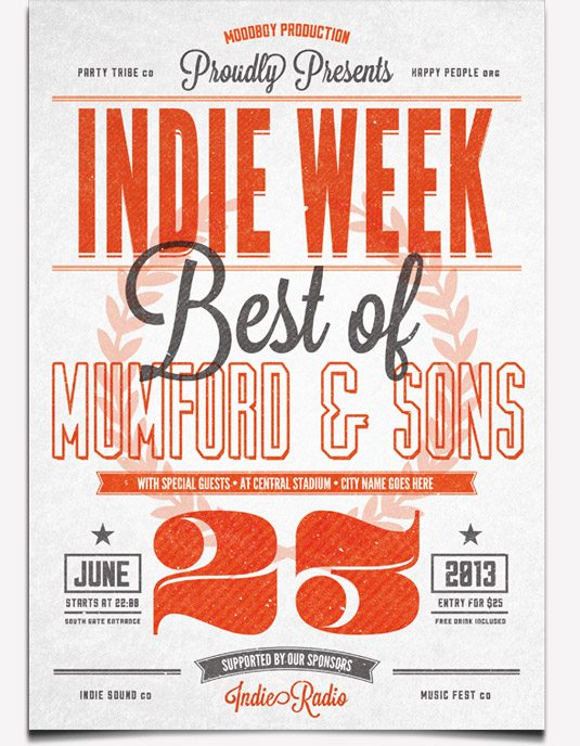 creative-blog-indie-week-flyer