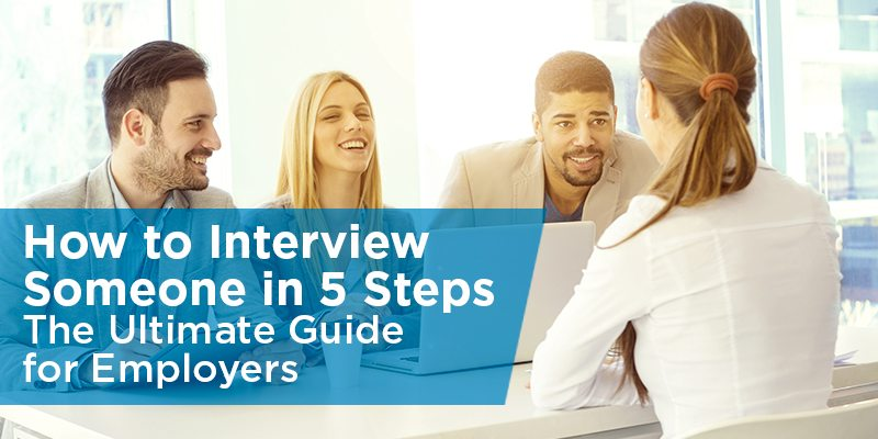 how to interview someone in 5 steps