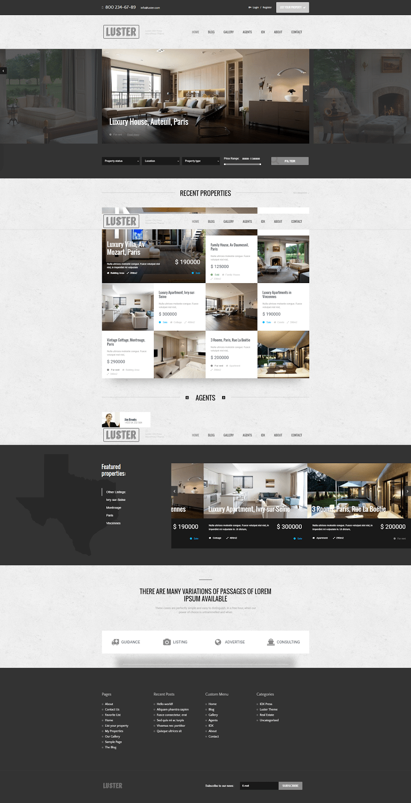 Real Estate Website Templates: 25 Examples & How to Choose