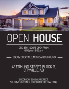 free open house flyer templates download amp customize