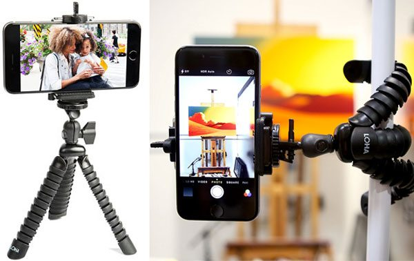 Product photography tools - camera phone tripod