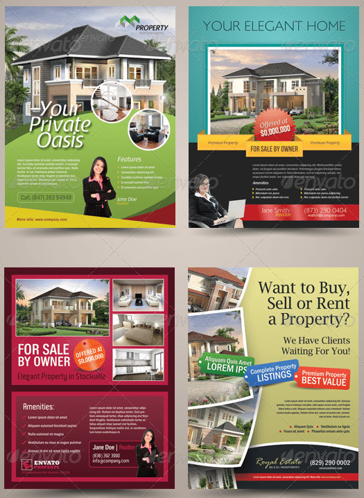 Flyer Templates 25 Options For Small Businesses – For Rent Flyer Template