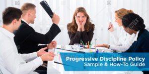 Progressive discipline policy