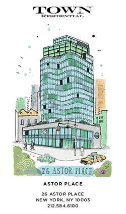 real estate bio-Town real estate graphic