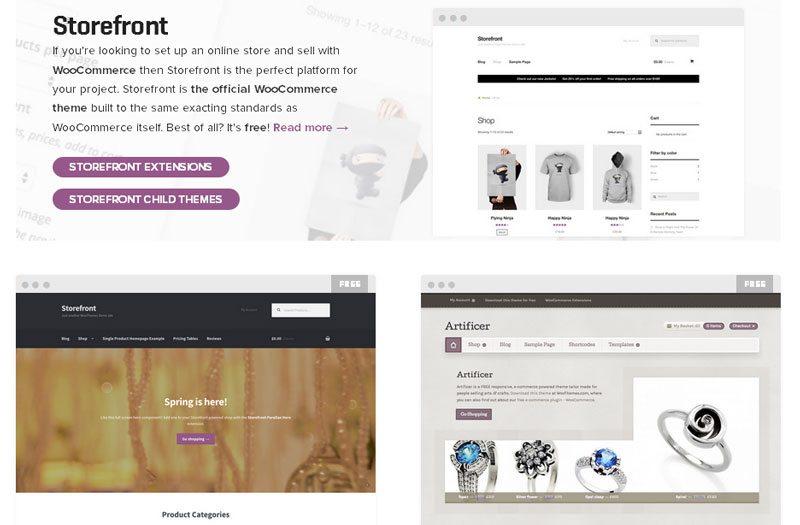 WordPress Shopping Cart Plugin - WooCommerce themes
