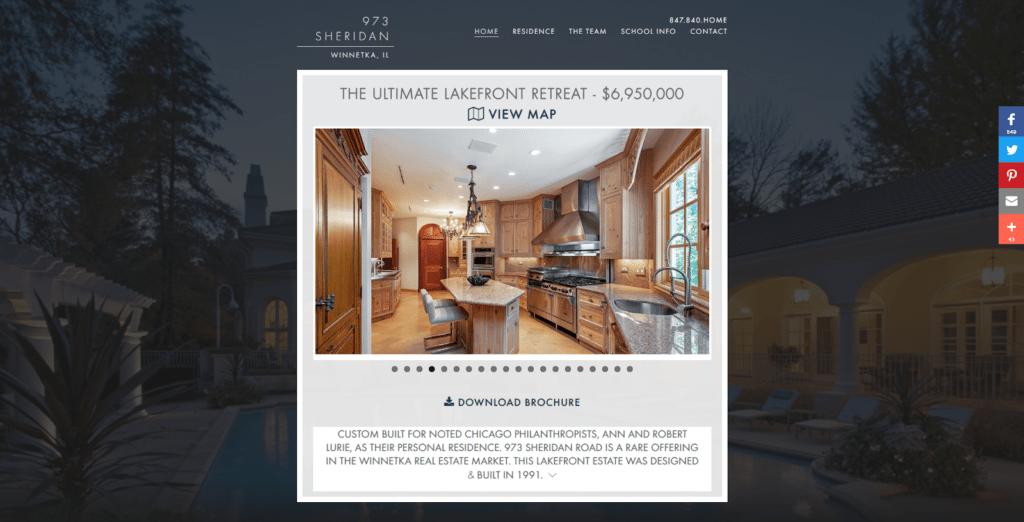 single property websites