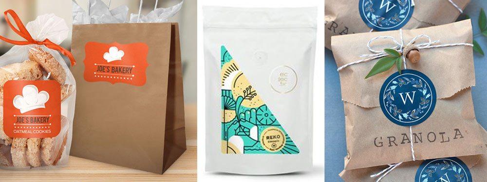 Custom boxes - custom logo stickers