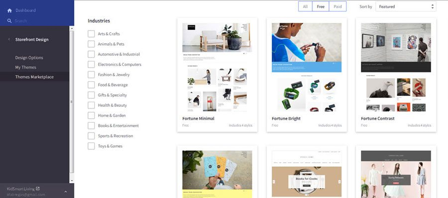 Ecommerce platforms review - BigCommerce themes