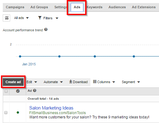 Bing Ads Additional