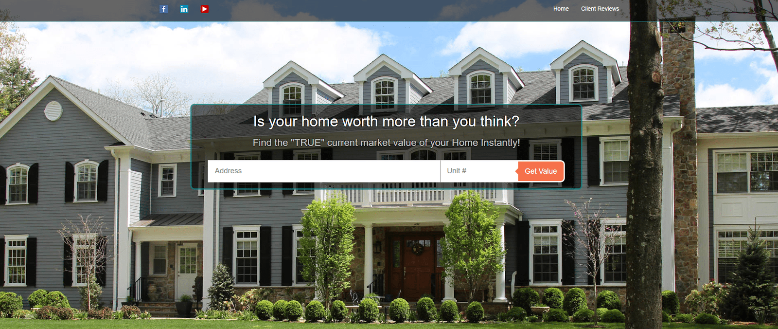 real estate lead generation service article -realgeeks screenshot