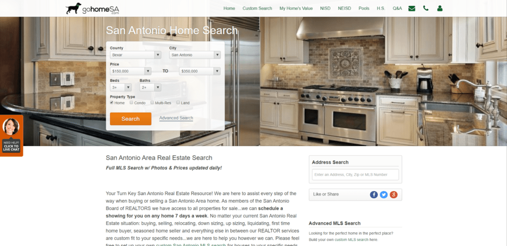 real estate lead generation service article -realgeeks screenshot
