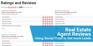 Real Estate Agent Reviews: Using Social Proof to Get more Leads
