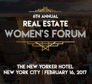 Real Estate Women's Forum: New York, real estate conference
