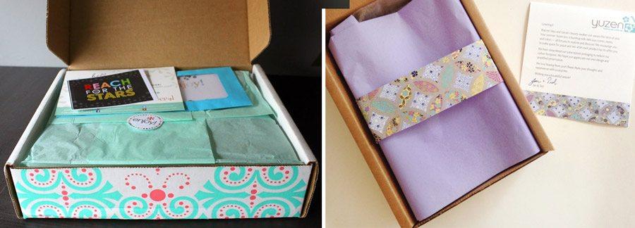 Custom boxes - semi-custom packaging ideas