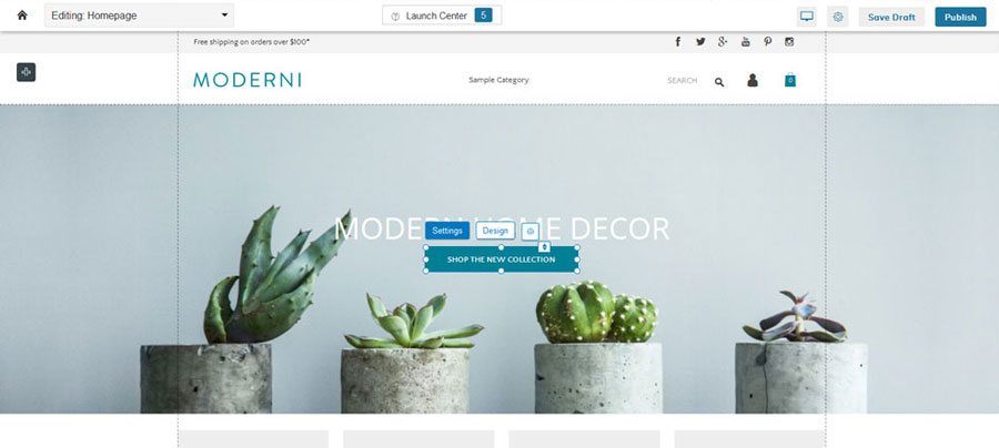 Ecommerce platforms review - Zoey design