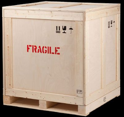How to ship LTL freight - wood shipping crates