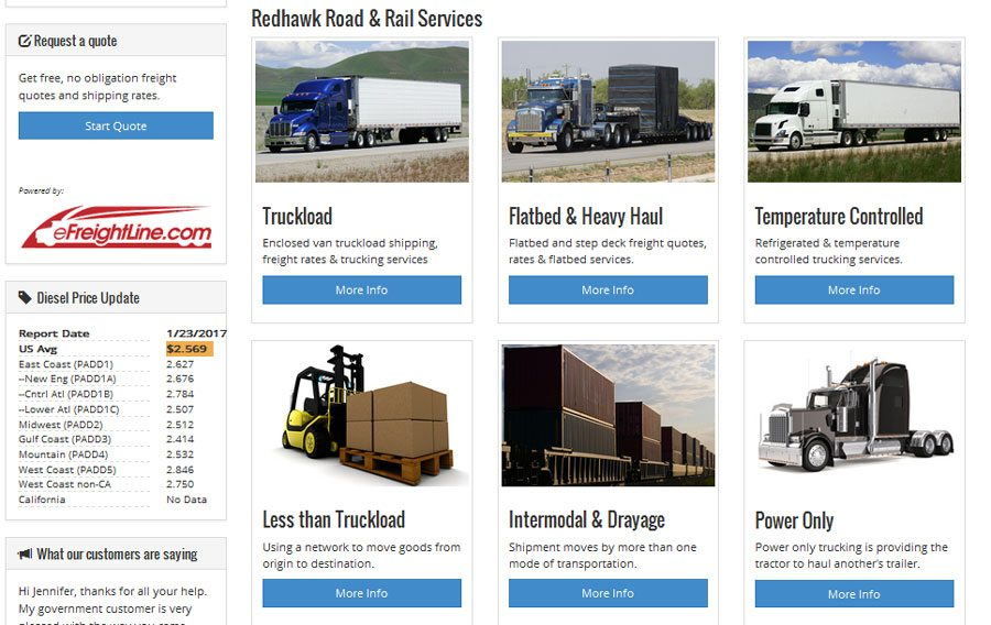 Best Online Freight Broker for Small Business - eFreightLine freight services