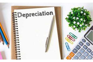 Depreciation written on Notebook