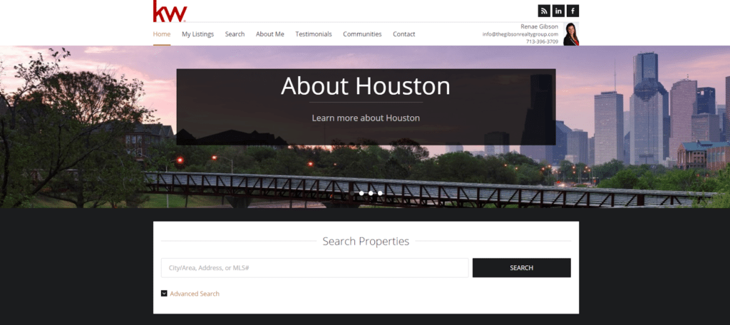 gibosn realty group zillow website