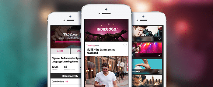 best crowdfunding site mobile app